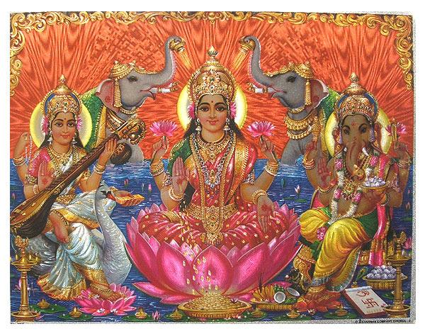 Ganesh_Lakshmi_Saraswati_-_Large
